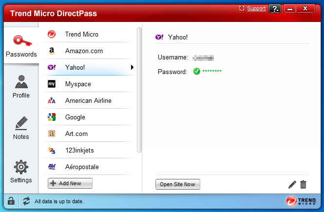 Click to view DirectPass screenshots